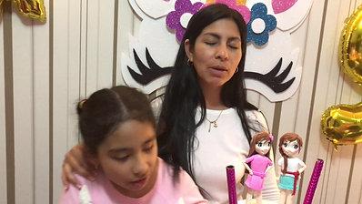 Testimonio de cumpleaños de Camila