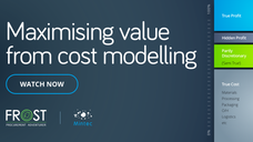 Cost modelling - part 1