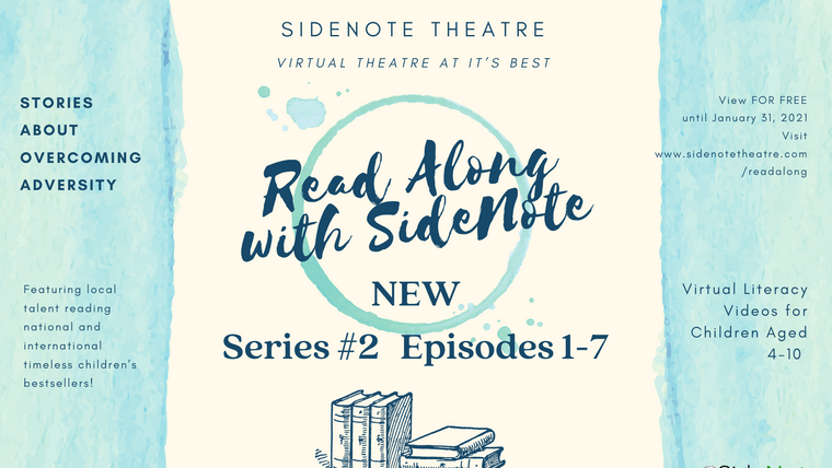 Read Along with SideNote; Series #2, Episodes 1-7