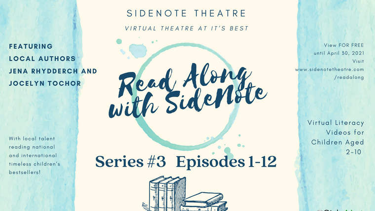 Read Along with SideNote; Series #3, Episodes 1-12