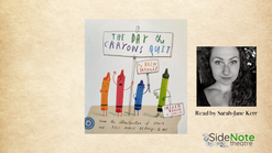 S3 E3 The Day the Crayons Quit, by Drew Daywalt and pictures by Oliver Jeffers
