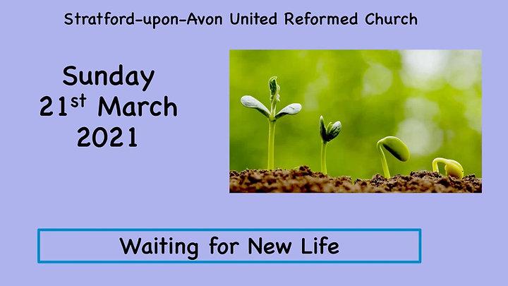 Sunday Service 21st March 2021