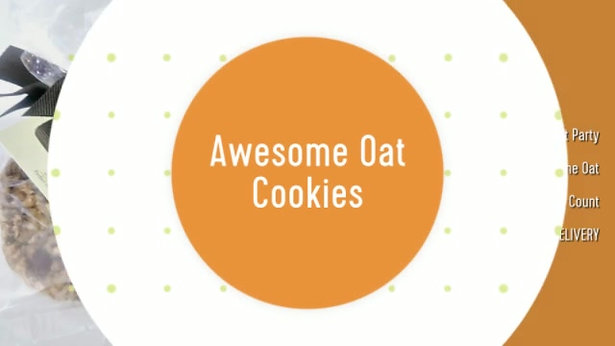Special Event Gourmet Party Pack Cookies _ Awesome Oat Cookies 36 Count