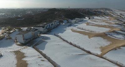 Blériot plage neige hd