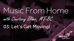 Let's Get Moving - Music From Home 03