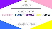 South Grandville Advent Season 2018