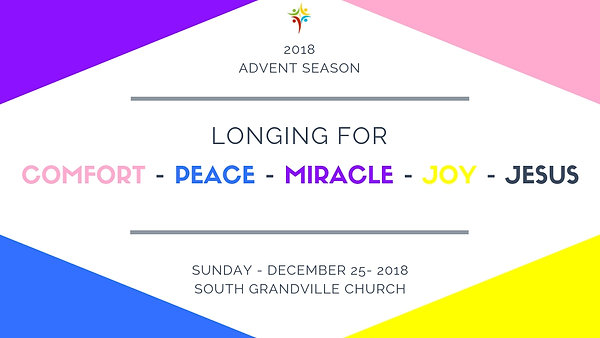 South Grandville Advent Season 2018