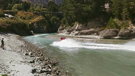 Shotover Jetting in New Zealand