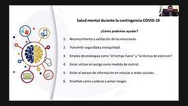 Salud mental de niñas, niños y adolescentes durante la emergencia Covid-19 Instituto Nacional de Psiquiatría