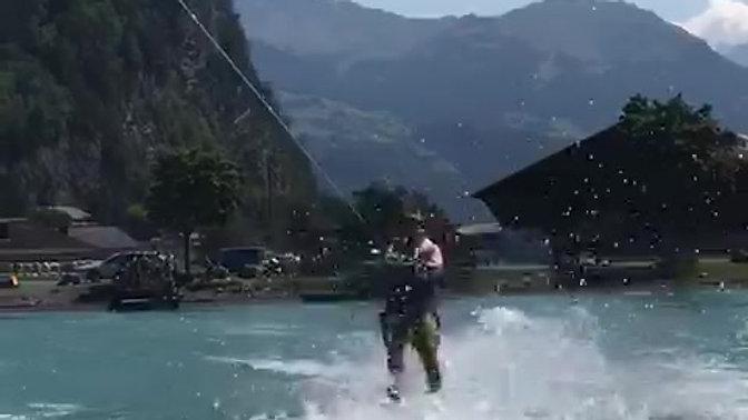 Wasserskifahren - Erste Gehversuche