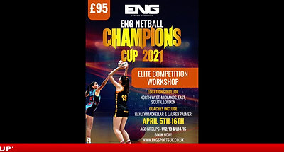 ENG Netball Cup - Live Draw