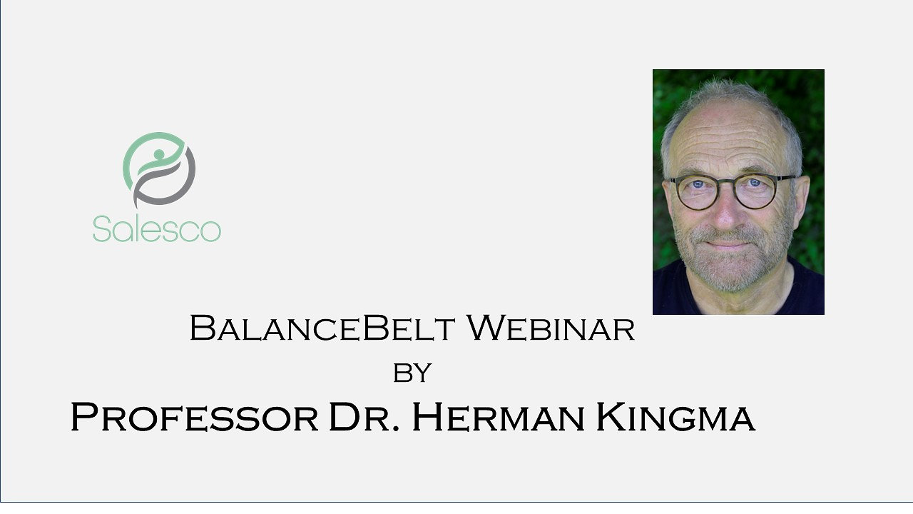 BalanceBelt Webinar by Professor Dr. Herman Kingma