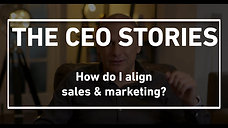 How do I align sales and marketing