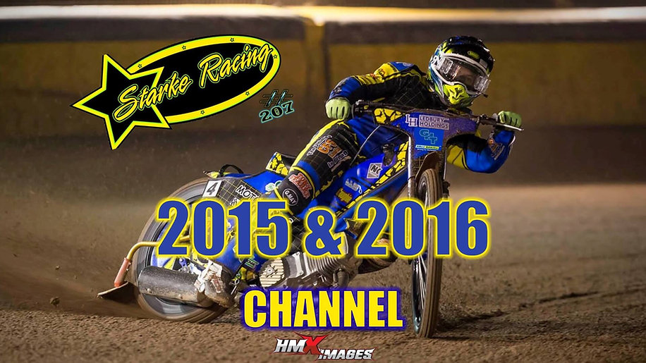 Paul Starke 2015 & 2016 Channel