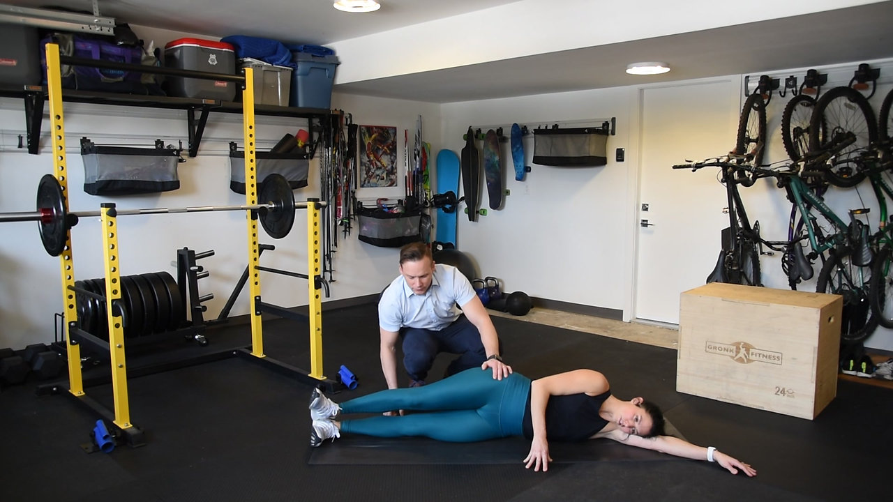 Side-lying Hip Abducton