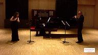Doppler 2 flutes piano