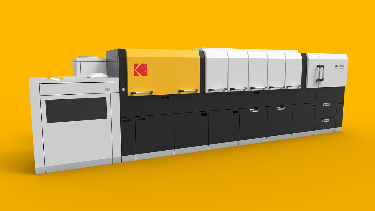 KODAK NEXFINITY DIGITAL PRESS