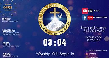 Worship Service | September 5, 2021