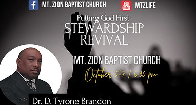 Worship Service | September 19, 2021