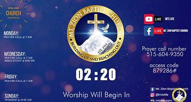 Worship Service | September 26, 2021