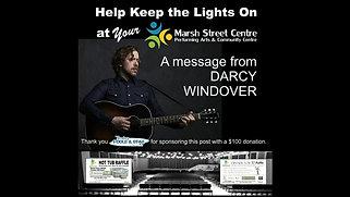 Darcy Windover Marsh Street support