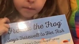 Review of Freeda the Frog Says Farewell to Her Fish