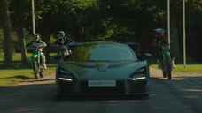 Forza Horizon 4: McLaren Senna Vs Motocross Showcase