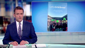 RTÉ Six One News Television 12.02.2017