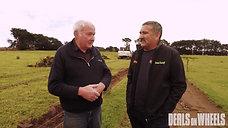 Mr Algar first in NZ to own a Hidromek