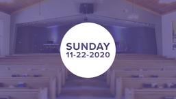 Sunday - 11/22/2020