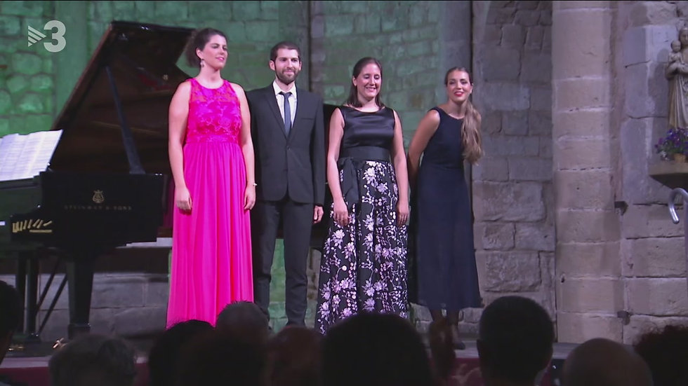 Mireia Tarragó a la Schubertíada de Vilabertran