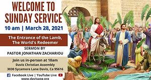 DCA Sunday Service 03-28-21