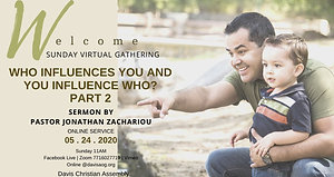 Who Influences You and You Influence Who Part 2