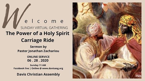 The Power of a Holy Spirit Carriage Ride