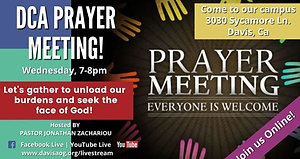 DCA Wednesday Prayer Meeting 08-18-21