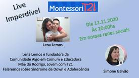 Lena Lemos - T21 e Adolescência