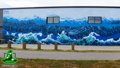 Arlberg Ski & Surf Shop Mural time-lapse