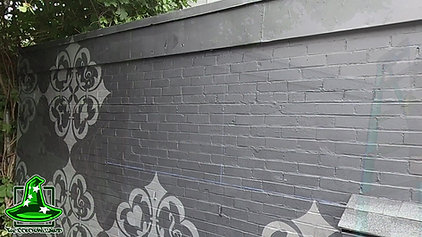 Flask Lounge mural time-lapse