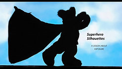 Superhero Silhouettes Photography Lesson