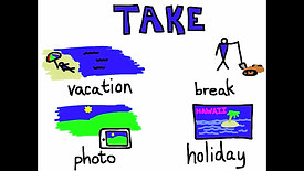 Phrasal Verbs Song (Make Do Take) - Rockin' English