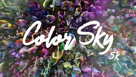 COLOR SKY / Web Content / 2016