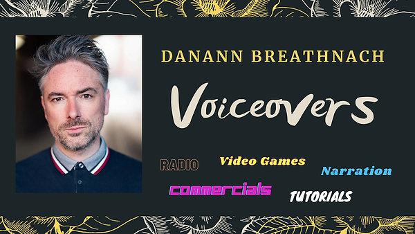 Danann Breathnach Montage Voice Reel Film