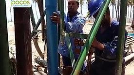 Revestimento de poço para a Construtora Odebrecht - Praia do Paiva - Cabo de Santo Agostinho