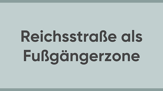 Jürgen Sorré - MEINE Meinung - Reichsstraße