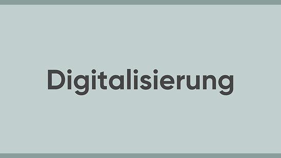 Jürgen Sorré - MEINE Meinung - Digitalisierung