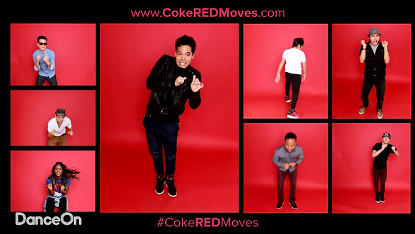 Coke Red Moves