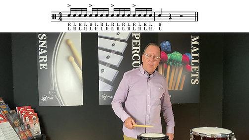 Lesson 24 Snare Drum