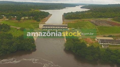 Hidrelétrica Curuá-Una em Santarém no Pará