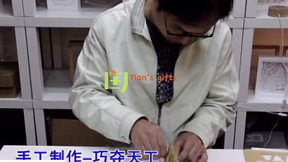 How the pop up cards are made