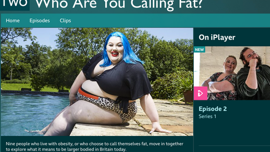 BBC TWO   Who Are You Calling Fat?   THE CURVE CATWALK